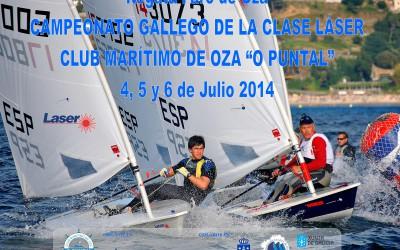 Campeonato Gallego Clase Láser 2014