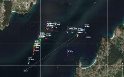 17ª Regata Cruceros de Aguete, Regatas Online tres Pruebas