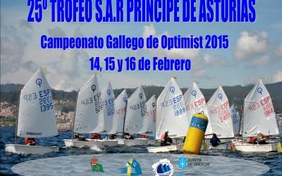 25ºTrofeo SAR Príncipe de Asturias, Cto. Gallego de Optimist