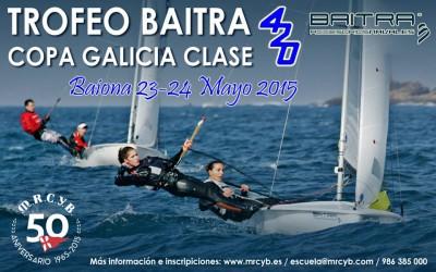 Copa Galicia clase 420 – Trofeo Baitra