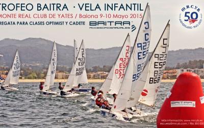 Campeonato Vela Infantil en Baiona  – Trofeo Baitra