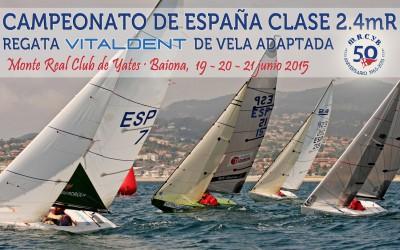 Campeonato de España de Vela Adaptada 2.4mR