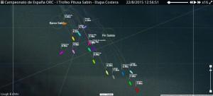 Campeonato de España Cruceros ORC, Zona Galicia