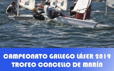 Campeonato Gallego de Láser 2019 Trofeo Concello de Marín
