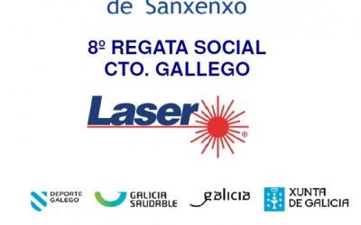 8ª Regata Social RCN.Sanxenxo Cto.Gallego Laser 2016