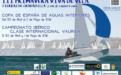 Campeonato Ibérico y Copa de España de Aguas Interiores Clase Vaurien