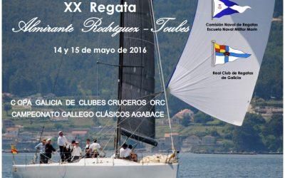 XX Regata Almirante Rodriguez Toubes 2016