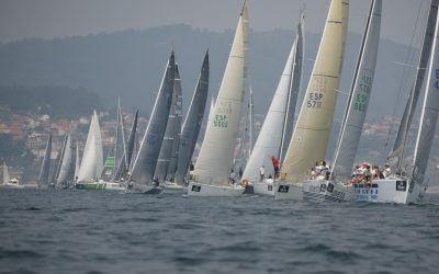 La flota del Náutico manda en ORC 1 mientras Eolo protagoniza, por ausencia, la primera etapa de la 53ª Regata Ribeiro entre Vigo y Sanxenxo