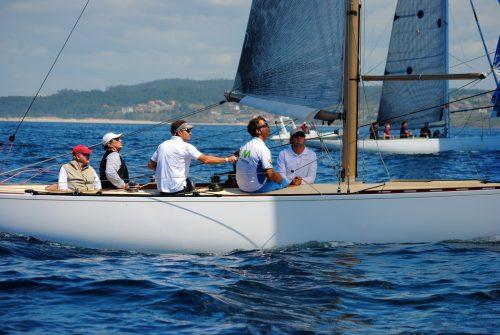 El Gallant patroneado po SM El Rey Juan Carlos I, vencedor en la clase 6 metros 2
