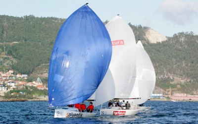 Solventis se adelanta en el podio de la Sexta Fase del Trofeo Pazo de Cea – Gloria de J70