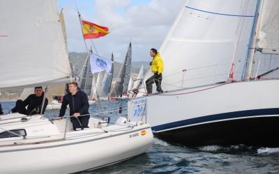 La Interclubes de Cruceros de la Ría de Pontevedra finaliza este sábado en Beluso