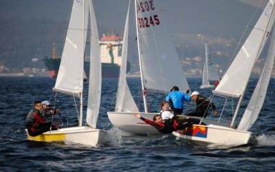 Los campeones de Europa de Snipe Gustavo y Rafael del Castillo, líderes provisionales en la 50º Regata Las Anclas