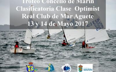 Clasificatoria Clase Optimist – Trofeo Concello de Marín