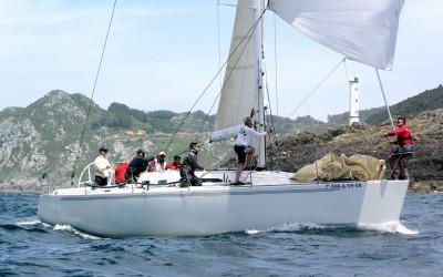 Mandan las flotas de las rías de Pontevedra y Muros tras la primera etapa de la XXV Regata Guardiamarina