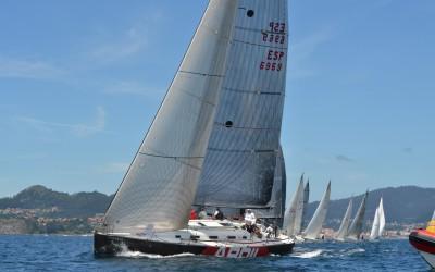 La segunda etapa de la Interclubes Ría de Vigo espera poco viento