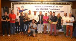 """El """"Aceites Abril"""" y el """"Balea Dous"""" ganan en la primera edición de la Interclubes Ría de Vigo"""
