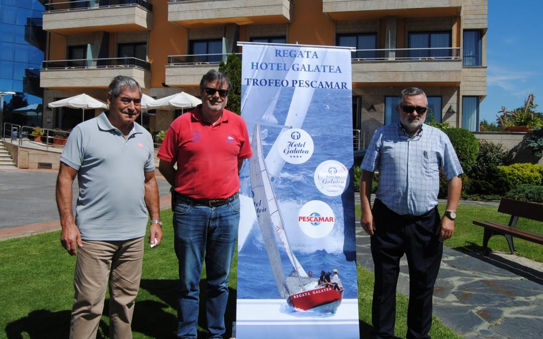 Presentada la XXI Regata Hotel Galatea Trofeo conservas Pescamar de Cruceros que organizará el Club Náutico Portonovo