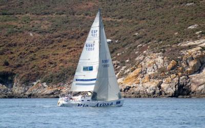 Agueira, Camping Ría de Arousa, Kairos III y Ay Carmela ganan la primera jornada del Hotel Galatea Trofeo Conservas Pescamar de Cruceros