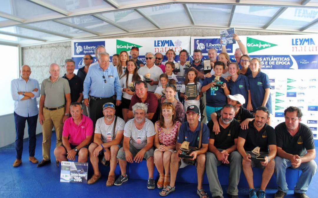 Pingüino Uno, Acali y A Meca ratificaron su triunfo final tras la segunda jornada de la Regata das Illas Atlánticas para barcos Clásicos y de Época
