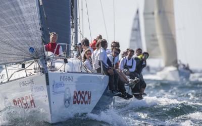 El viento se alía con los veleros en la primera jornada del Trofeo Príncipe de Asturias