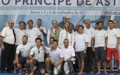 Concluye en Baiona el  32º Trofeo Príncipe de Asturias