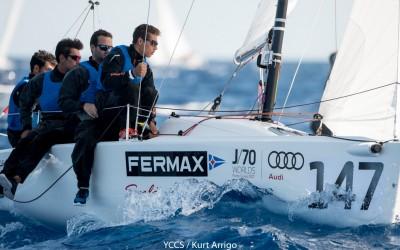 El Fermax, de Martínez Doreste y Panei, se hace con la plata provisional del mundial de J70