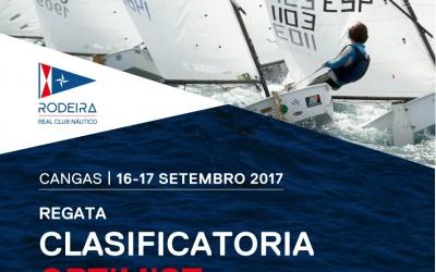 Regata Clasificatoria Clase Optimist, RCN Rodeira