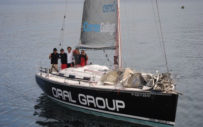 """La modalidad """"a la inversa"""" para cruceros, vuelve a triunfar en la Ría de Pontevedra con una gran participación"""