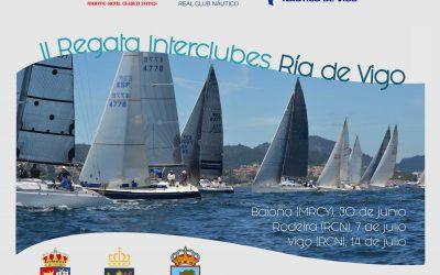 II Regata Interclubes Ría de Vigo