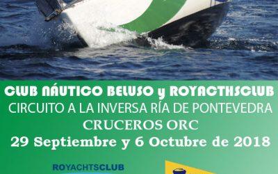 Circuito a la Inversa Cruceros ORC Ría de Pontevedra