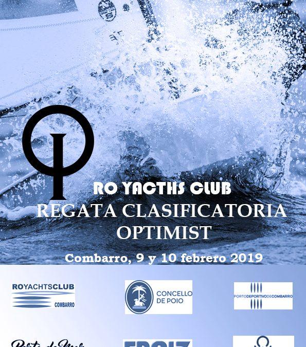 Regata Clasificatoria Optimist Ro Yachts Club Combarro