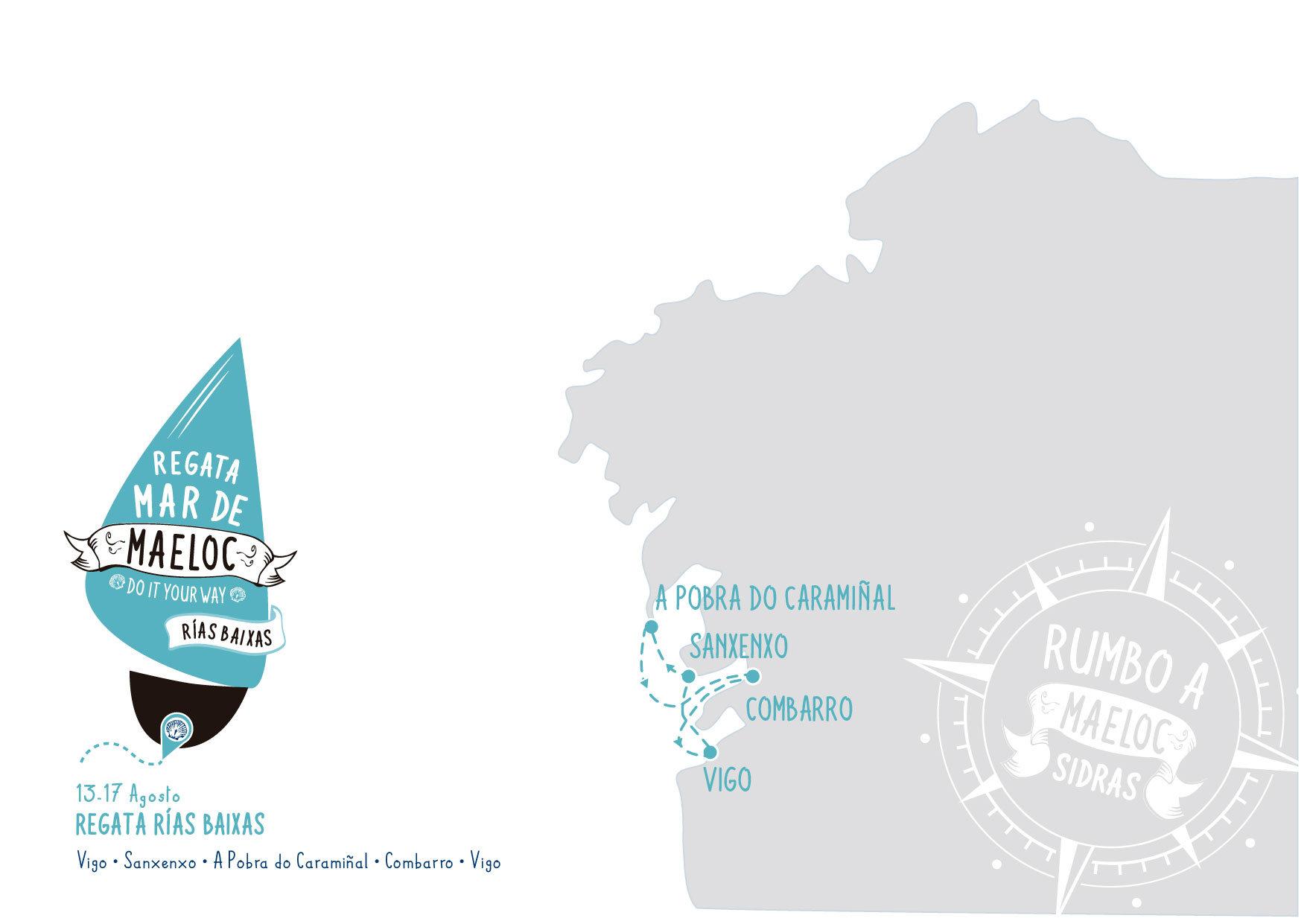 Mar de Maeloc 56ª Regata Rías Baixas 2019