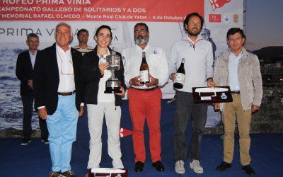 El Salaño Dos de Jacobo Vecino y Brenda Maure se proclama vencedor del Campeonato Gallego de A Dos