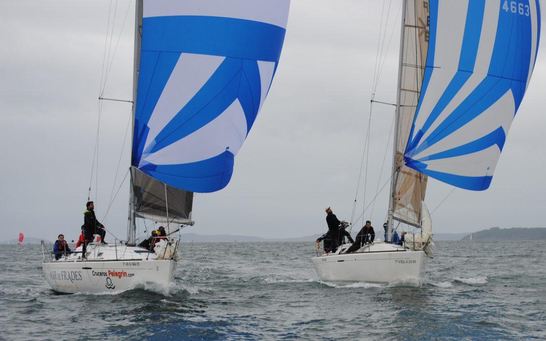 Meigas Fora, Mar de Frades Cruceros Pelegrín, Travesío La Riviere y Cassandra, primeros líderes del Trofeo de Navidad de cruceros en Aguete