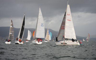 Magnífica jornada para regatear la que tuvo la tercera prueba del XXI Trofeo de Navidad cruceros en la Ría de Pontevedra