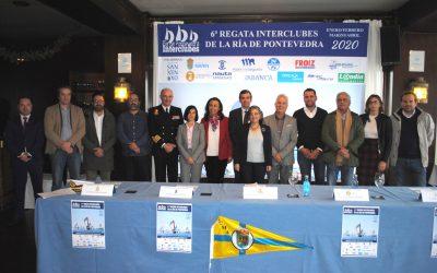Presentada en Aguete la 6ª edición de la exitosa Regata Interclubes de la Ría de Pontevedra