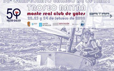 Campeonato Gallego Optimist Trofeo Baitra 2020