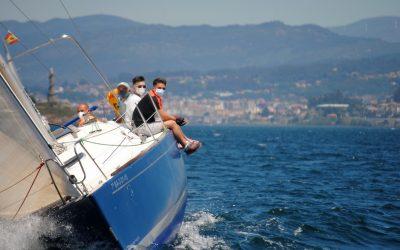 Orión, Travesío y Cassandra se imponen en la Combarro Cruising Sail de cruceros
