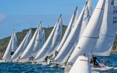 La flota de J80 vuelve al agua  para disputarse la Liga de Otoño