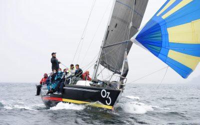 Juancamaría 3, Vagalume y Chispa Nejra, vencedores finales en la Regata Navidad de cruceros de Aguete