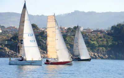 Este sábado, si el tiempo lo permite, finaliza en la Ría de Pontevedra la Regata de Navidad de cruceros de Aguete