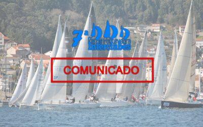 Comunicado del Comité Organizador de la 7ª Regata Interclubes Ría de Pontevedra