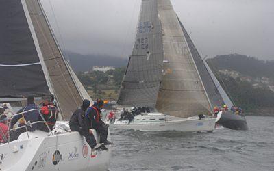 Ziralla Primero se pone al frente de laregata Toubes tras una dura etapa de Marín a Vilagarcía